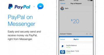 الآن يمكنك الدفع داخل مسنجر فيس بوك عبر باي بال